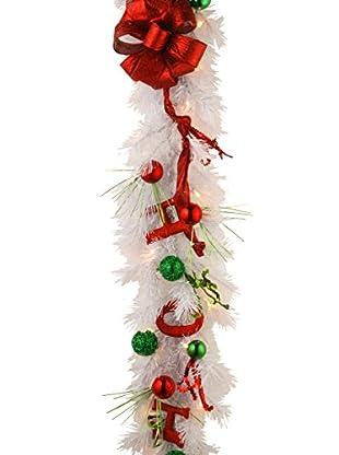 National Tree Company 9' Decorative Collection Ho Ho Ho Garland