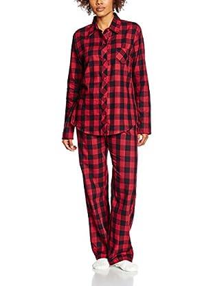 ESPRIT Pijama  Rojo ES 42 (DE 40)