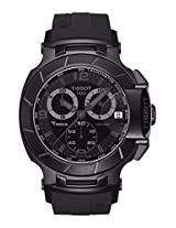Tissot T048.417.37.057.00 T-Race Chrono Black Dial Men's watch