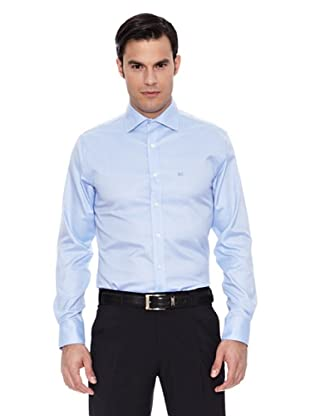Pedro del Hierro Camisa Non Iron (Azul)