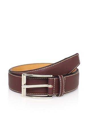 Leone Braconi Men's Bullskin belt (Acajou)