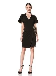 Just Cavalli Women's Wrap Dress (Black)