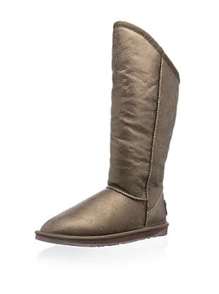 Australia Luxe Collective Women's Cozy Tall Vintage Metallic Boot (Bronze)