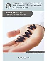 Sistema Operativo, búsqueda de información: Internet/Intranet y correo electrónico. ADGN0108
