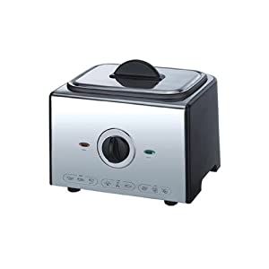 Sogo SS-10407 Electronic Deep Fryer - Silver