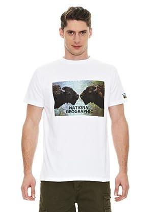 National Geographic Camiseta Búfalo (Blanco)