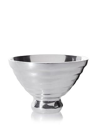 Lunares Wave Salad Bowl (Silver)