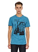 Paul Stragas Camiseta Tansel (Azul)