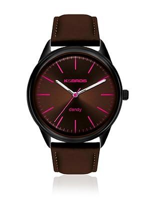 K&BROS Reloj 9486 (Marrón)