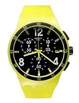 Swatch Green Rubber Analog Men Watch SUSG400