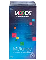 Moods Melange Condoms - 12 Pieces (Pack of 2)