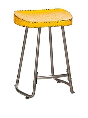 Premier Housewares Hocker Artisan gelb