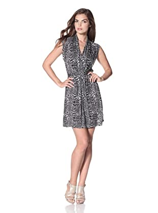 French Connection Women's Wild Wendy Dress (Calico/Black)