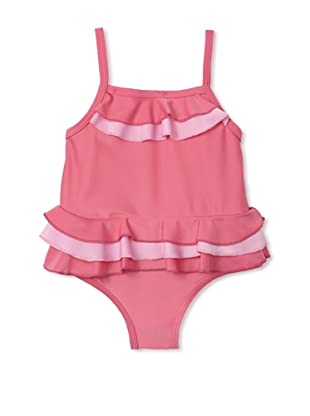 Absorba Infant/Toddler Ruffled Swimsuit (Pink)