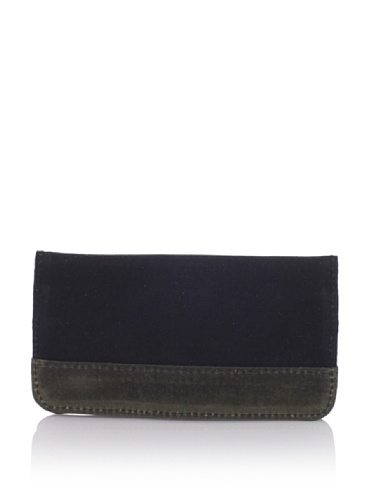 Insubordinate Lads Men's Sigmund Wallet (Black/Olive Wax)