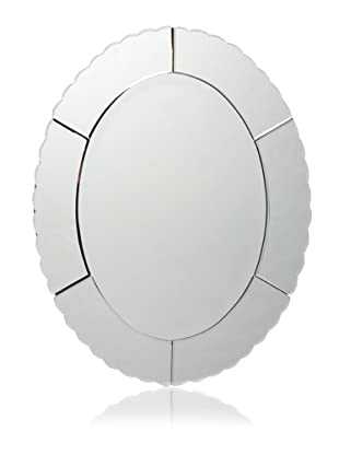 Uttermost Evana Oval Mirror (Clear)