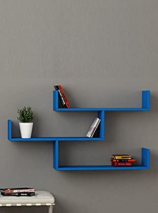 Decortie by Homemania Estante Tibet (Azul)
