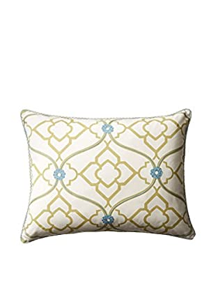 Belmont Home Joplin Pillow (Ivory/Lime/Teal)