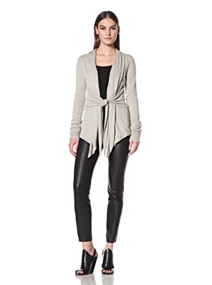 Rick Owens Liles Women's Extended Sleeve Cardigan (Pearl)