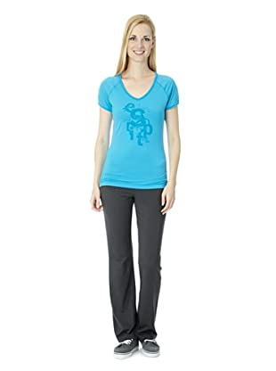 ESPRIT SPORTS Damen T-Shirt (Blau)