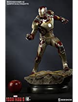 Sideshow Marvel Collectibles Iron Man 3 Iron Man Mark 42 Xlii 1/4 Quarter Scale Marquette Statue