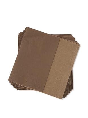 Villeroy & Boch 1 Pack Servilletas de papel marrón