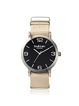 South Lane Men's 4909 Signature Beige Nylon Watch with 2 Extra Straps