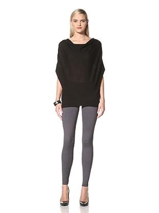 David Lerner Women's Lightweight Basic Micro Fabric Legging (Grey)