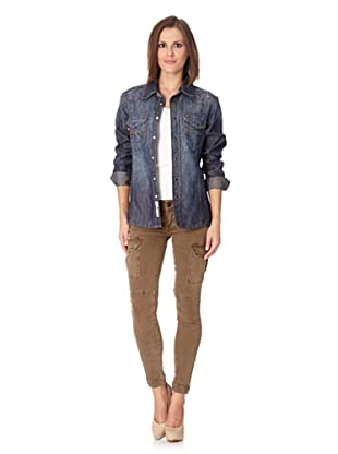 Lotus Jeans Cyrus Ohio (dark blue knittered wash)
