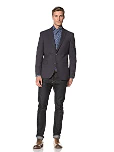 Tallia Men's Varga 2-Button Jacket (Navy)