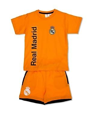 Licencias Pijama Real Madrid (Naranja)