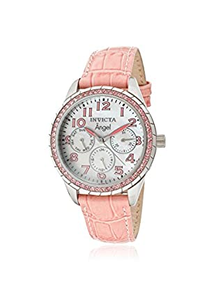 Invicta Women's 12603 Angel Mother-of-Pearl & Crystal Accented Pink Watch