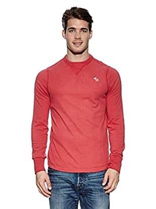 Abercrombie & Fitch Pullover Classic Crew (hellrot)