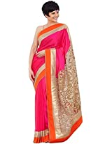 Bollywood Replica Saree Mandira Bedi Pink Color Saree: NFS_NMP