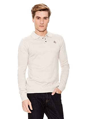 Paul Stragas Polo Pull (Beige)