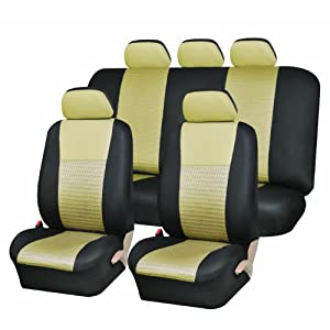 UAA SC-103BG Airbag Car Seat Cover Set