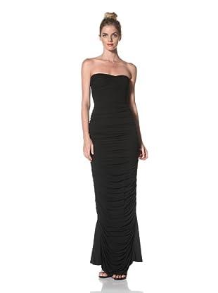Norma Kamali Women's Walter Gown (Black)