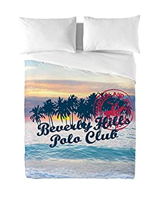 Beverly Hills Polo Club Bettdecke und Kissenbezug Hawaii