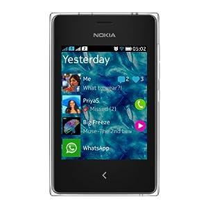 Nokia Asha 502 (Dual SIM, White)