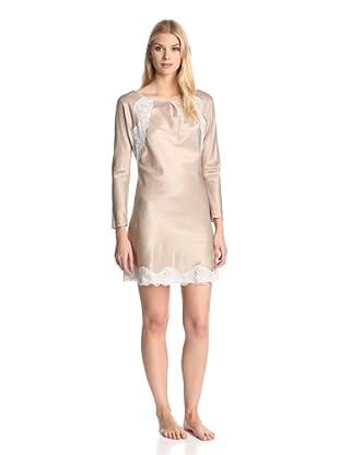 Valery Sleepwear Women's Giselle Night Gown (Beige Sabbia)