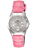 Casio Enticer Silver Dial Women's Watch - LTP-2083L-4AVDF (A532)