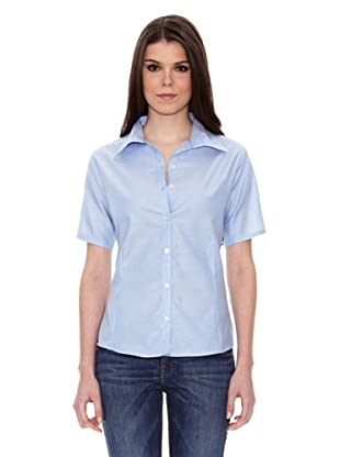US Basics Blusa Oxford (Azul Claro)