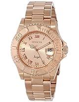 Invicta Analog Gold Dial Women's Watch - INVICTA-14322