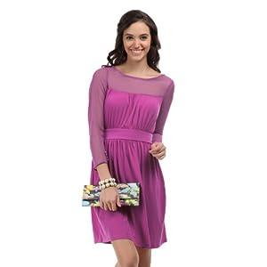 Avirate Purple Orchid Dress