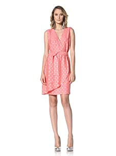 Paul & Joe Women's Virago Sleeveless V-Neck Dress (Coral)