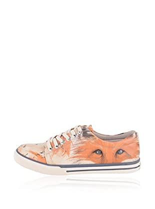 Dogo Sneaker The Enigmatic Fox (Creme)