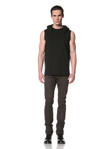 Rick Owens DRKSHDW Men's Hooded Pullover (Black)