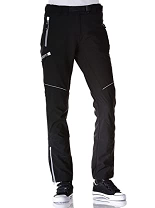 Black Wolf Pantaloni Stretch (Nero)
