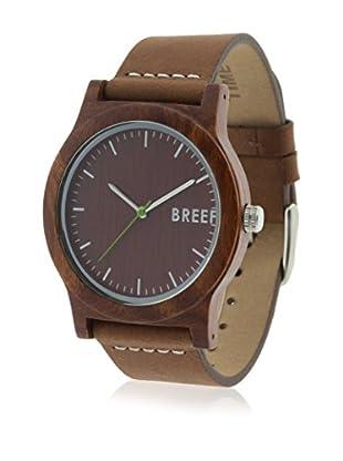 BREEF WATCHES Uhr mit japanischem Uhrwerk Unisex SANDALWOOD ORIGINAL 40 mm