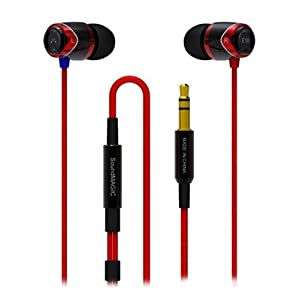 SoundMagic E 10 Noise Isolating Headphone-Red